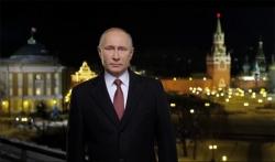 Праздничное обращение Президента РФ Владимира Владимировича Путина в канун Нового года 2018.