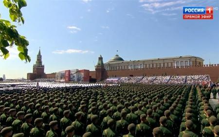Парад Победы на Красной площади. Москва. 24 июня 2020. Прямая трансляция!